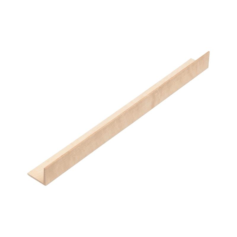 Tiefenerweiterung für Besteckeinsatz Holz
