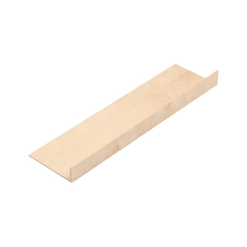 Tiefenerweiterung für Besteckeinsatz Holz - 1