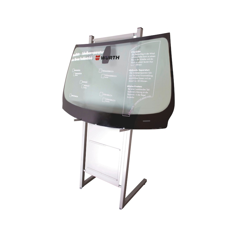 Advertising stand Window stand