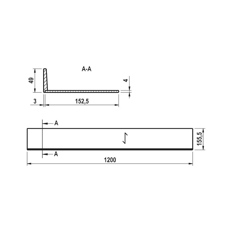 Tiefenerweiterung für Besteckeinsatz Holz - 3