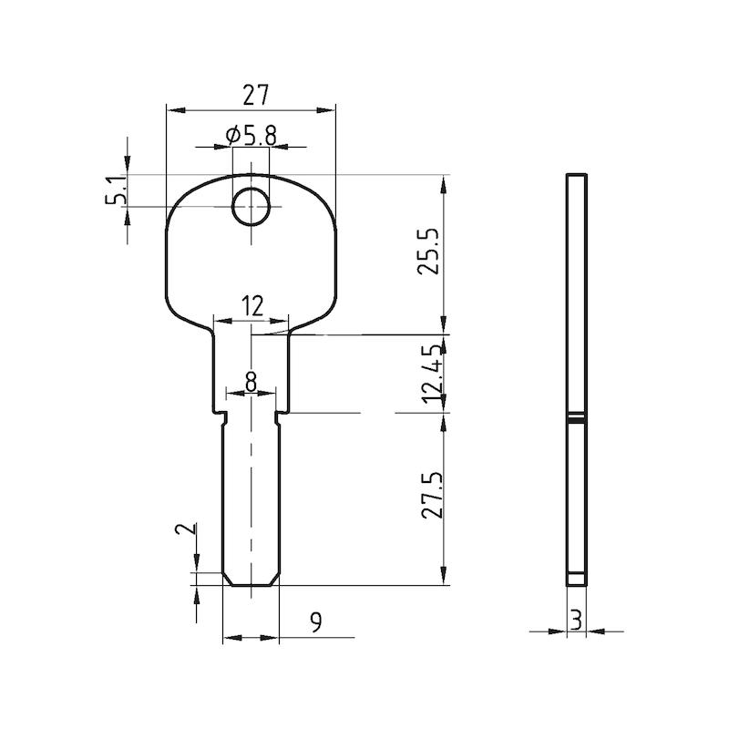 Additional key W6RK - 2
