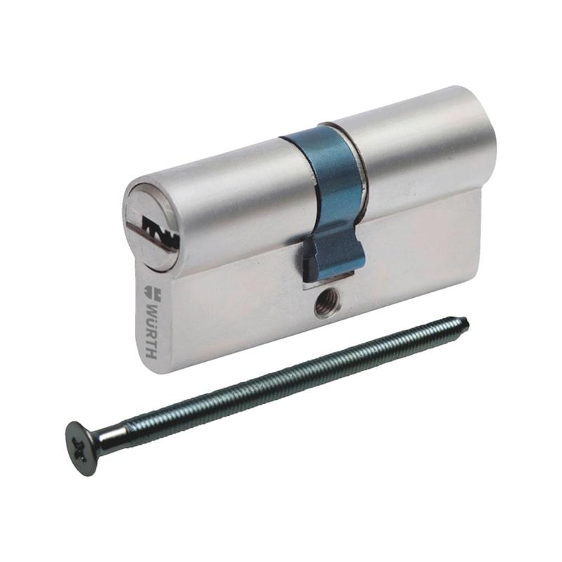Profil-Doppelzylinder W6RK - DPZYL-W6RK-VS-GS-ERSTANL-(NI)-35X35MM