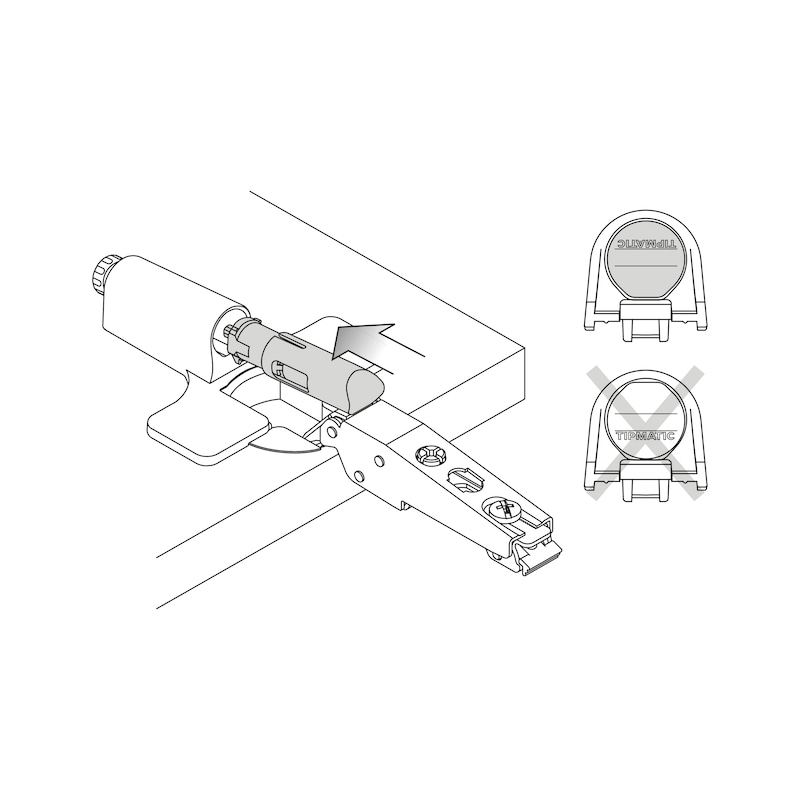 Auswerfer Tipmatic - 6
