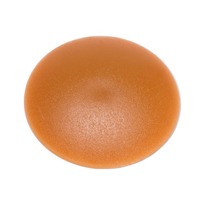 Abdeckkappe flach - ABDEKA-FL-(0910610)-HELLBRAUN