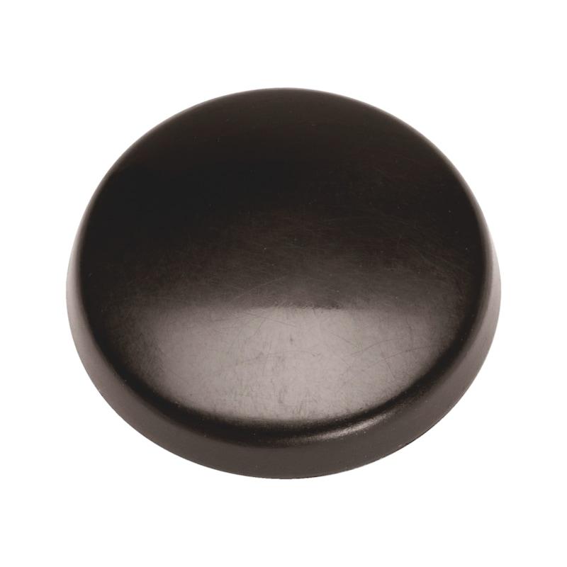 Abdeckkappe flach mit Bund - 1