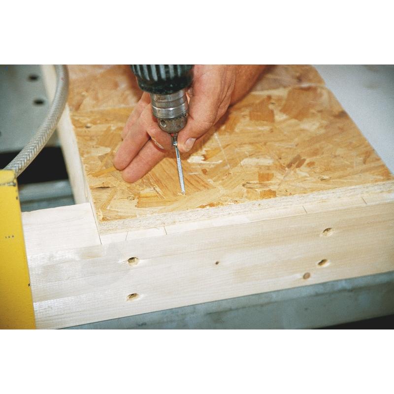 Vis à bois pour construction bois ASSY<SUP>®</SUP> 3.0 Rapide zingué double filetage - 7