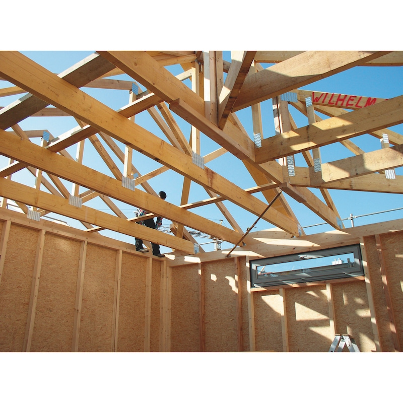 Vis à bois pour construction bois ASSY<SUP>®</SUP> 3.0 Rapide zingué double filetage - 8