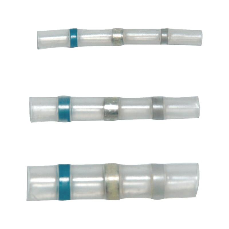 Manchon à souder, imperméable, thermorétractable - SLDRSLEV-WTRPROF-TRANSP-(2,5-4,4SMM)