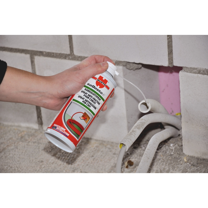 Spray anti-frottement pour câble - 2