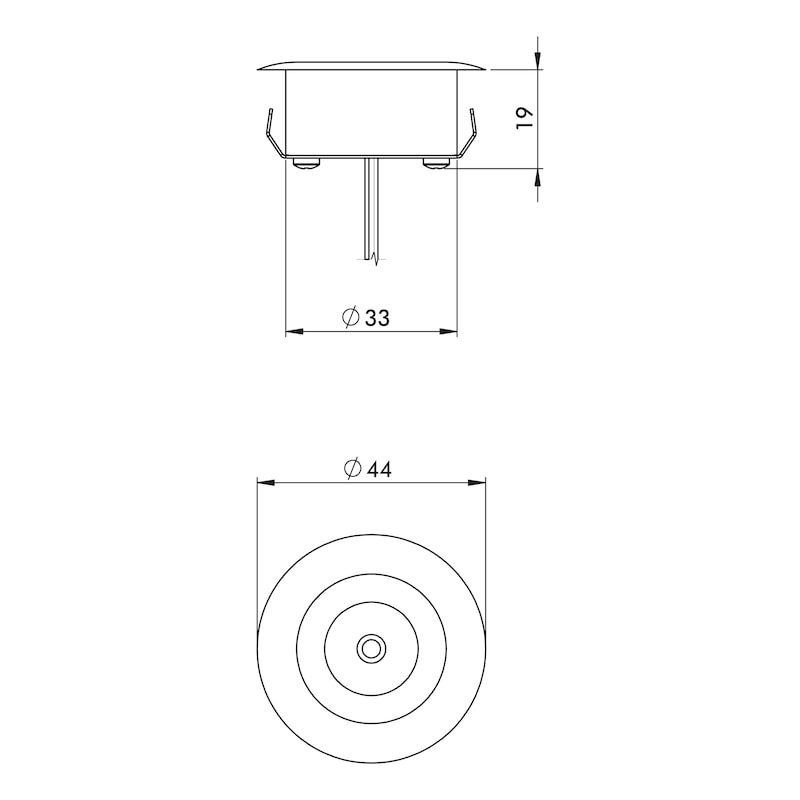 Power-led inbouwlamp type B - 2