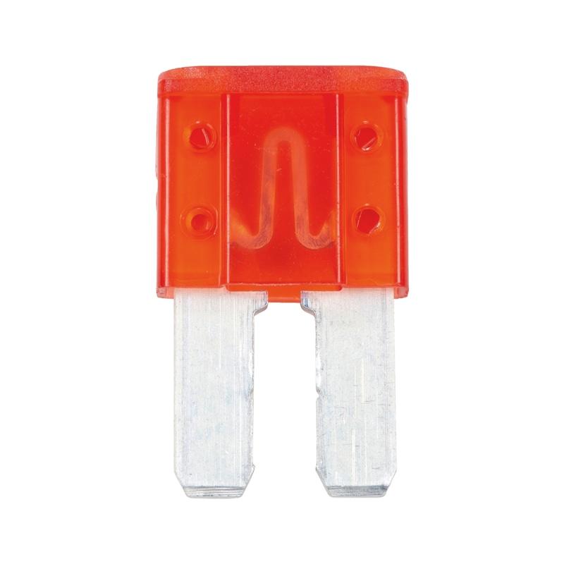Fusibile a lamelle  Micro 2<SUP> </SUP>argento - FUSIBILE MICRO 2 SILVER AMP 10 ROSSO