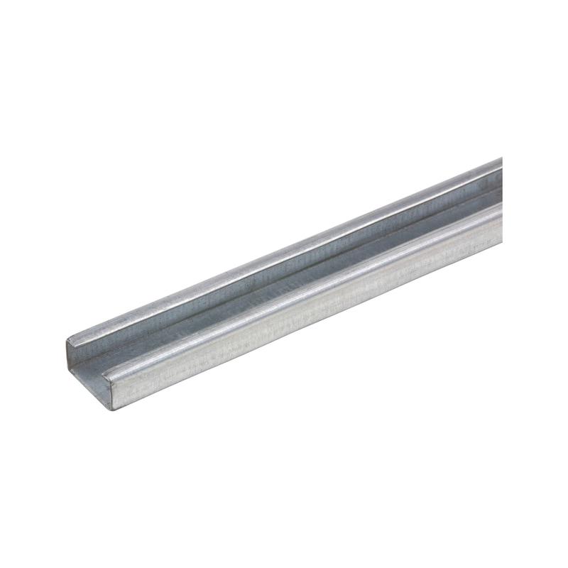 Guida perforata per clip per cavo tipo H - PROFILO-FORAT-P/COLL-30X15X1,5MM-L2M