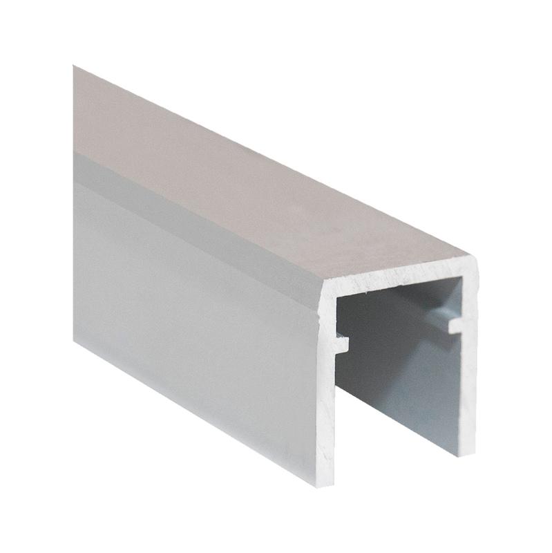 Binario per scorrevole armadio con anta interna STB60