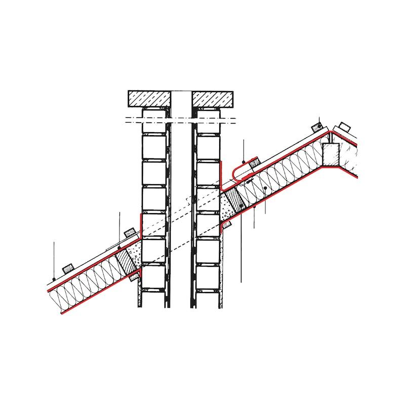 Membrane de sous-toiture et film de protection pour toit WÜTOP<SUP>®</SUP> Thermo ERS - 2