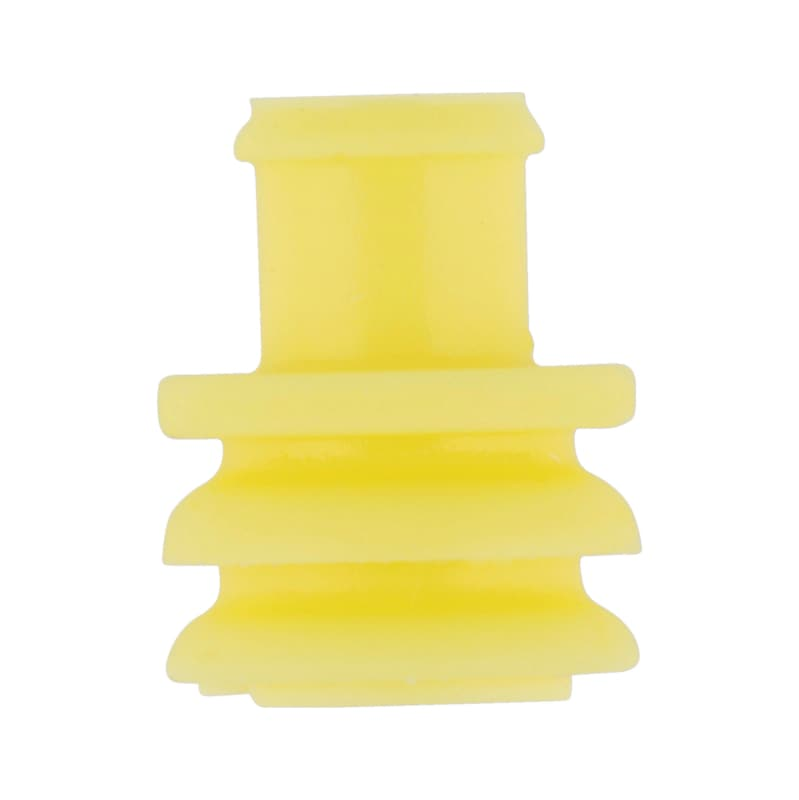 Single wire seal (SEAL) - SNGLWRESEAL-YELLOW-(1,7-2,4MM)-D3,4MM