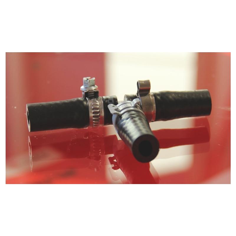 Abrazadera de banda elástica compacta - SBACLMP-DIN3021-B-51CRV4-(FLZ)-D22X12