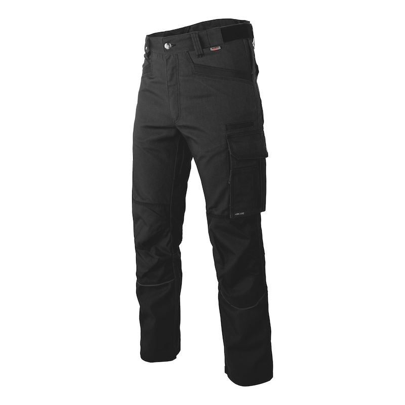 Nature trousers - WORK TROUSER NATURE BLACK 62