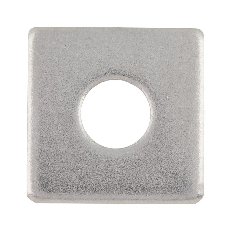 Scheibe, vierkant - SHB-4KT-DIN436-A2-D11,0