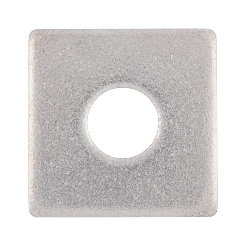 Scheibe, vierkant - SHB-4KT-DIN436-A2-D22,0