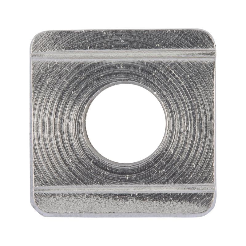 Rondella, quadra, cuneiforme per profilati a U - 1