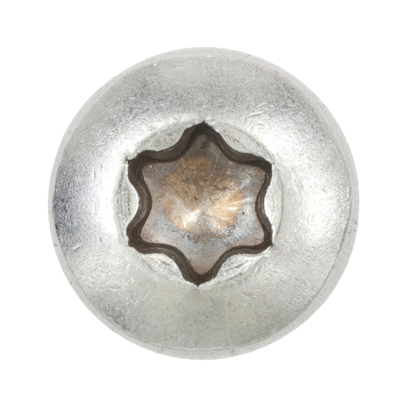 Flachkopf-Blechschraube Form C mit Innensechsrund - 3