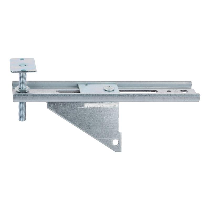 Window installation bracket with height adjustment plate JB-DK - 1