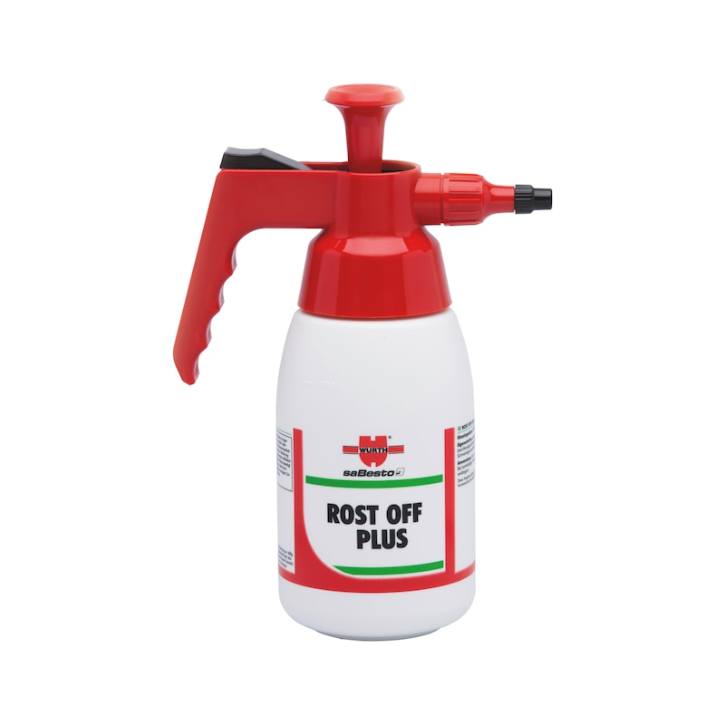 Product-specific pump spray bottle Unfilled - PMPSPRBTL-EMPTY-(ROST OFF PLUS)-1LTR