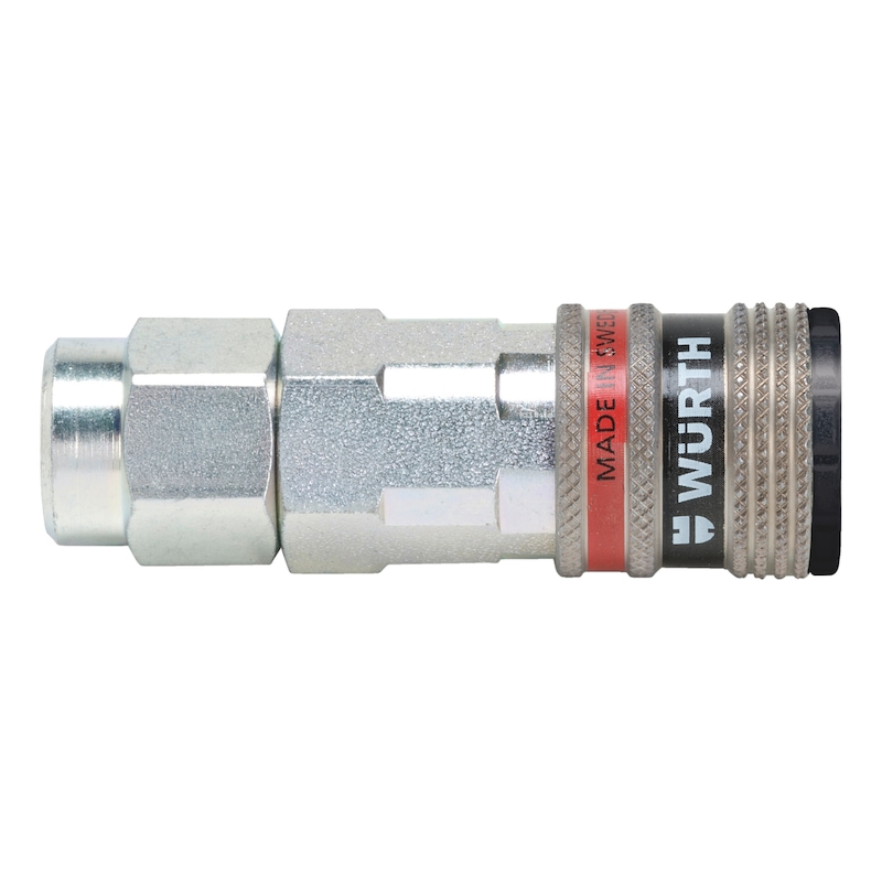 Druckluft Sicherheitskupplung wSafe<SUP>®</SUP> 3000 mit Komfortanschluss