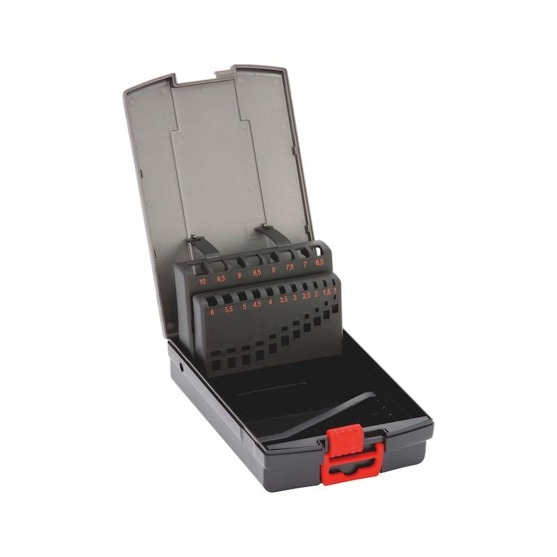 Leerkassette - SORTKAST-BO-LEER-(D1-10)-0,5MM