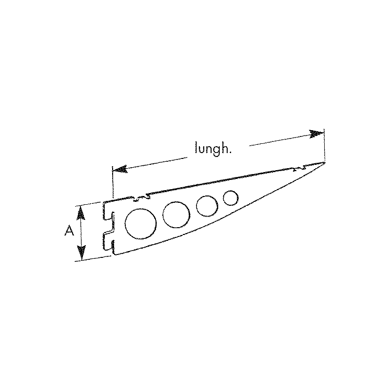 Mensola design TIPO B - 2