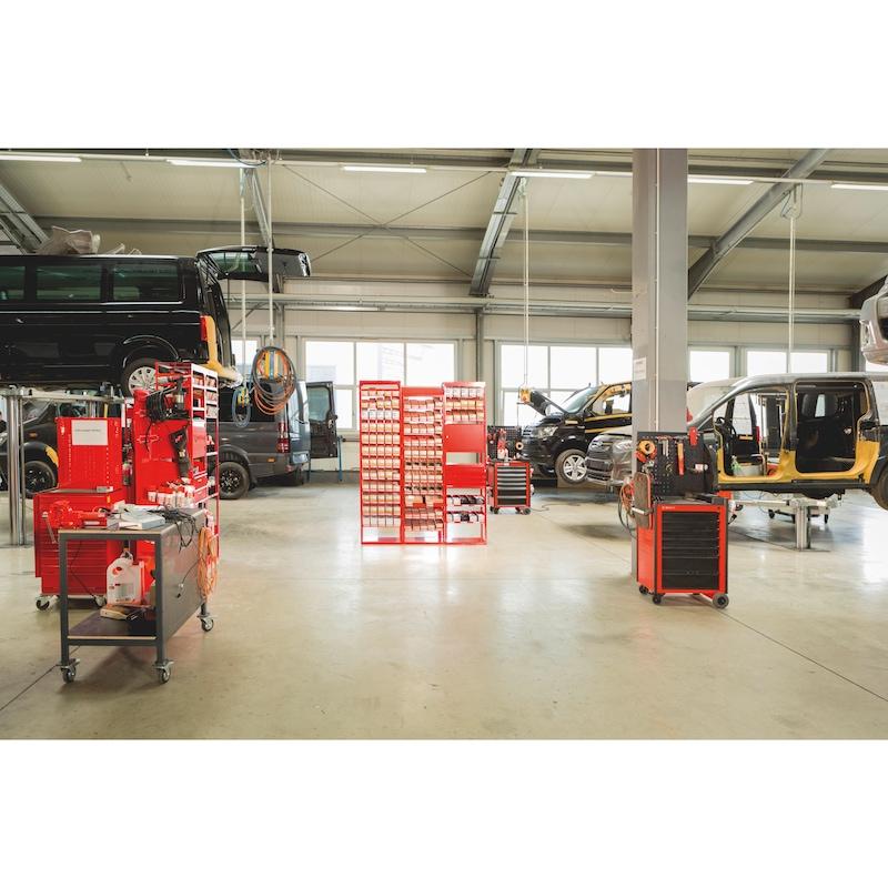 Werkstattwagen Compact - WRKSTWG-TLSYS-C5-MATT-R5012
