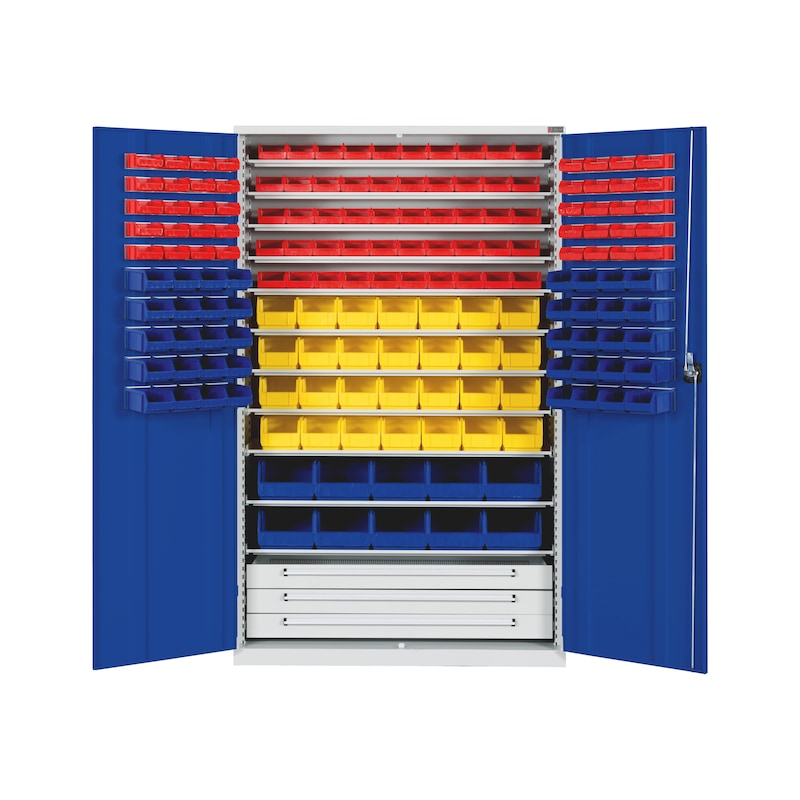 Kast voor opbergdoos PRO - CAB-STRG-FB14-BOX-RAL5010