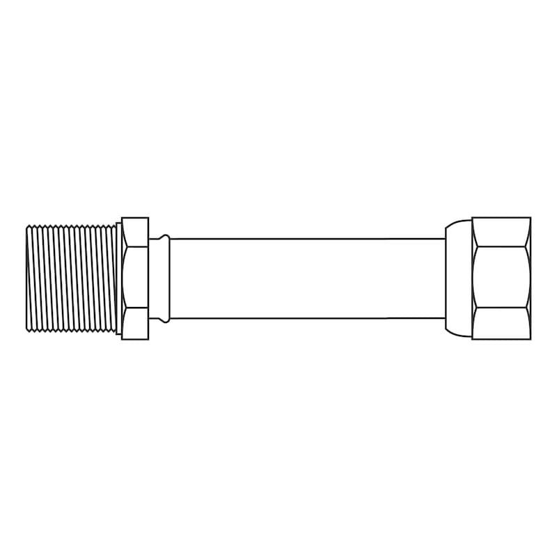 Tubo flessibile in acciaio inox Confezione BIG-PACK MIX - 3