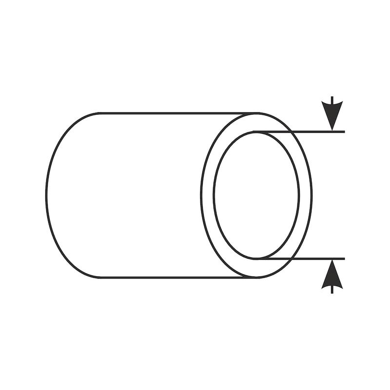 Tubo flessibile in acciaio inox Confezione BIG-PACK MIX - 4