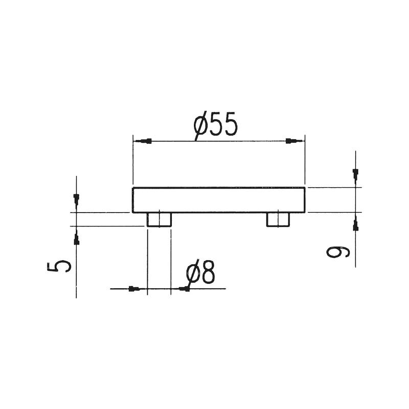 Door handle A 605 - 4