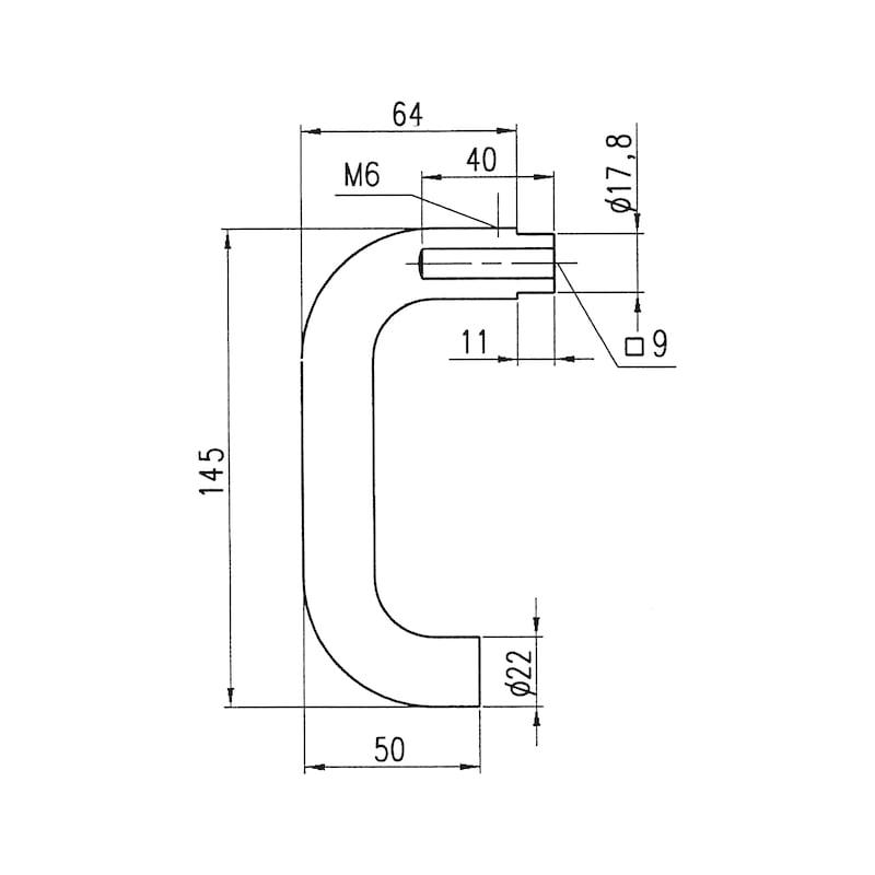 Türdrücker  AL 502 FS - 2