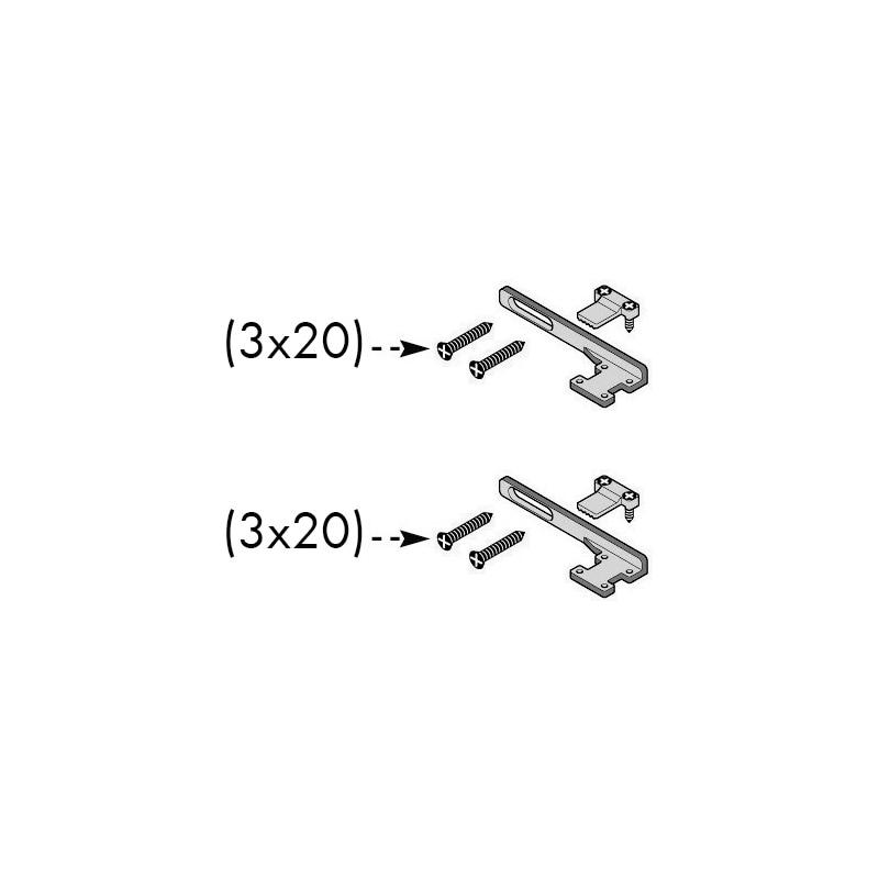Kit chiusura automatica per porte scorrevoli esterne - 7