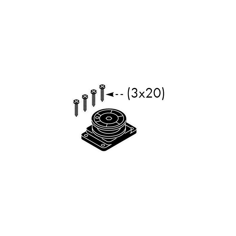 Kit chiusura automatica per porte scorrevoli esterne - 8