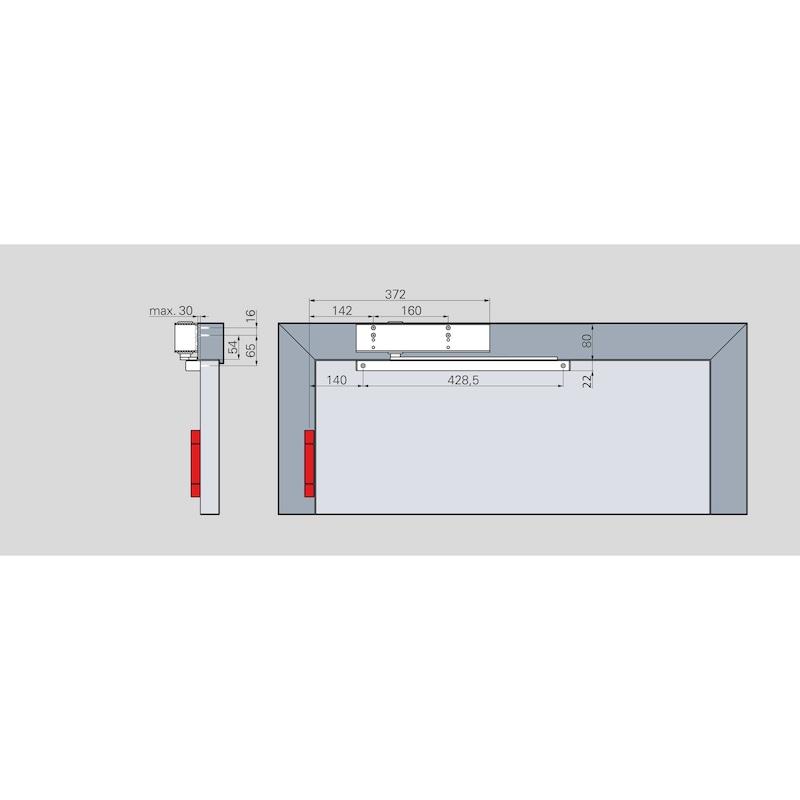 Türschließer GTS 690 G mit Gleitschiene (EN 5-6) - 2