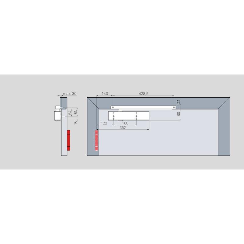 Türschließer GTS 690 G mit Gleitschiene (EN 5-6) - 3