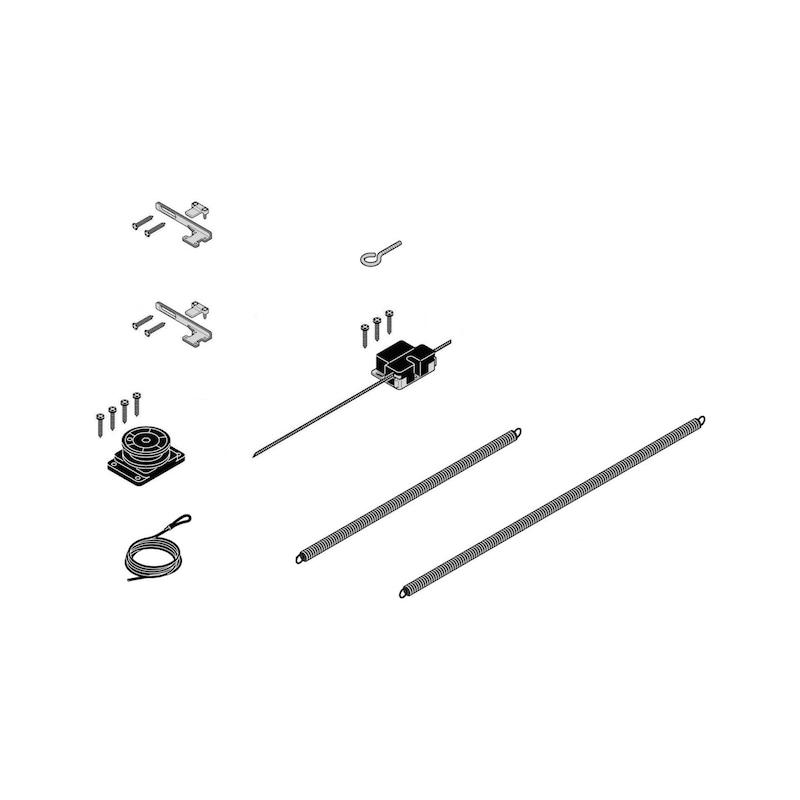 Kit chiusura automatica per porte scorrevoli esterne - 1