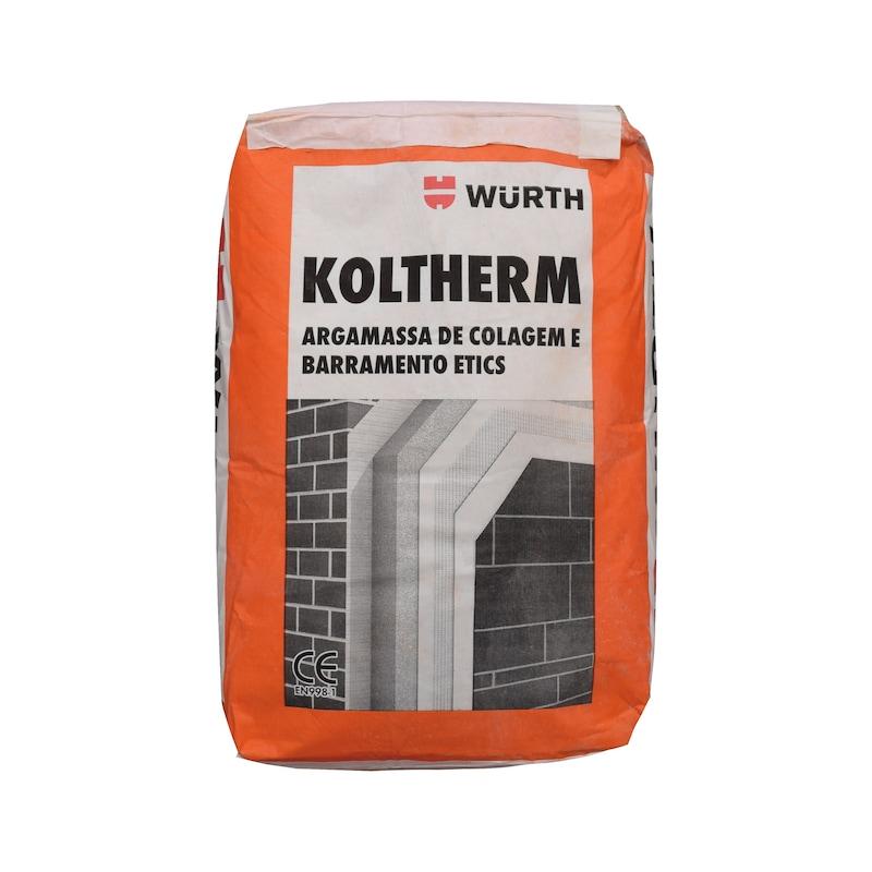 KOLTHERM - KOLTHERM COLAGEM E BARRAMENTO ETICS 25KG