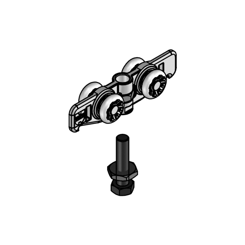 Acheter kit de montage pour portes coulissantes neualutop 0684700401 w rth - Montage de porte coulissante ...