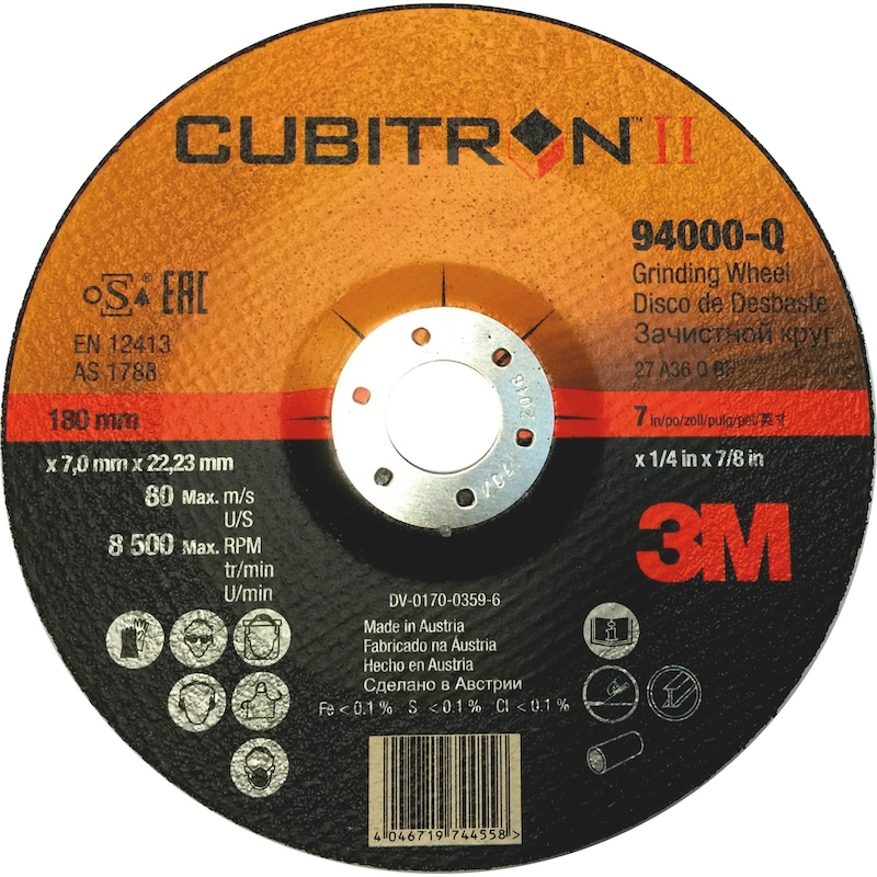 3M™ Cubitron™ II Schruppscheibe