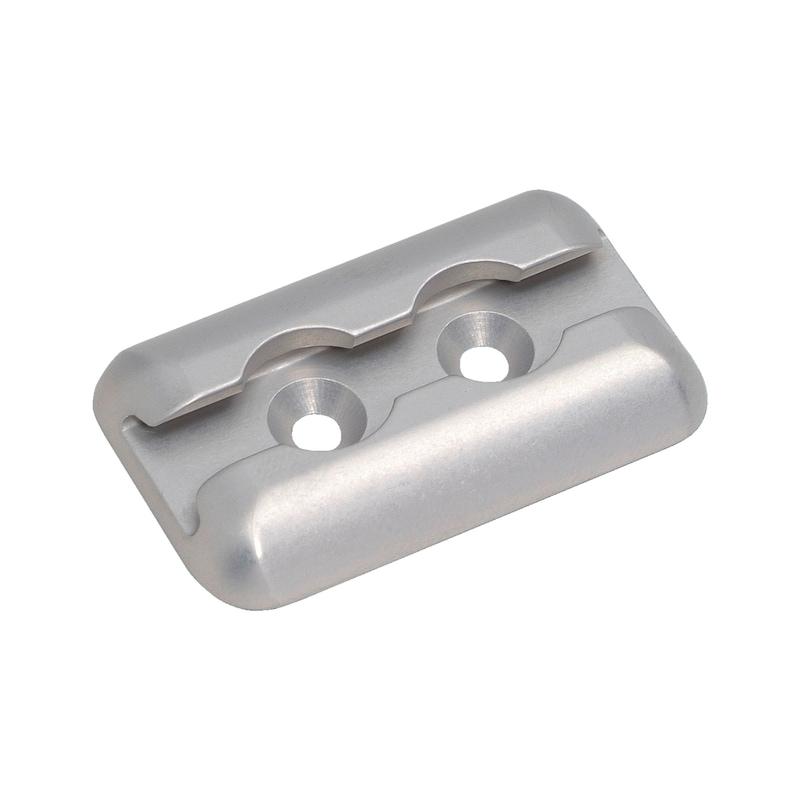 Aluminium-Airline-Zurrplatte