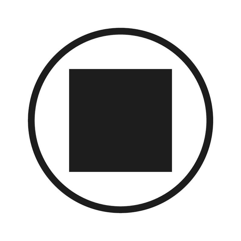 Adaptateur de cliquet traversant - 0