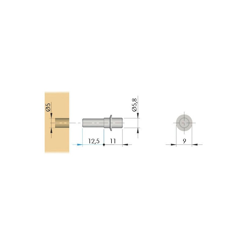 Einsteckbolzen - 2