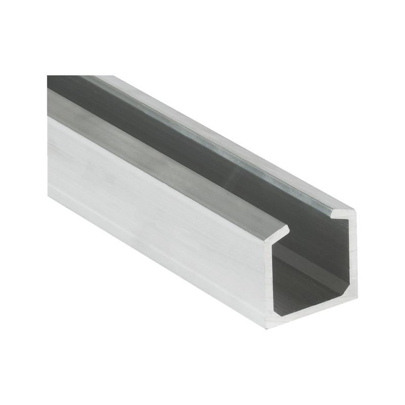 Binario alluminio top 140 porte scorrevoli | Würth