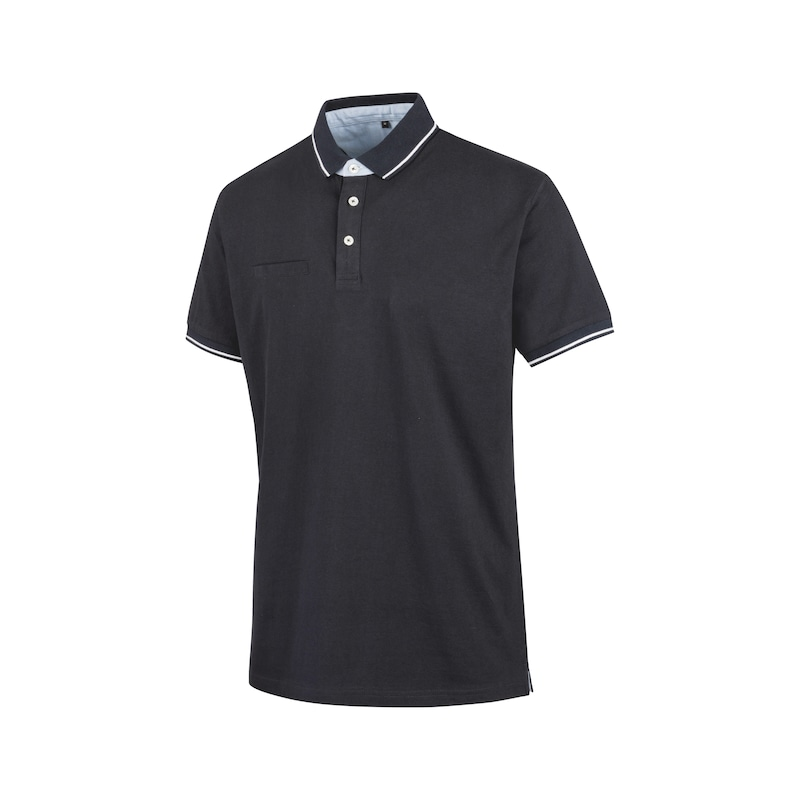 Polo de bureau en jersey - POLO OFFICE MARINE XS