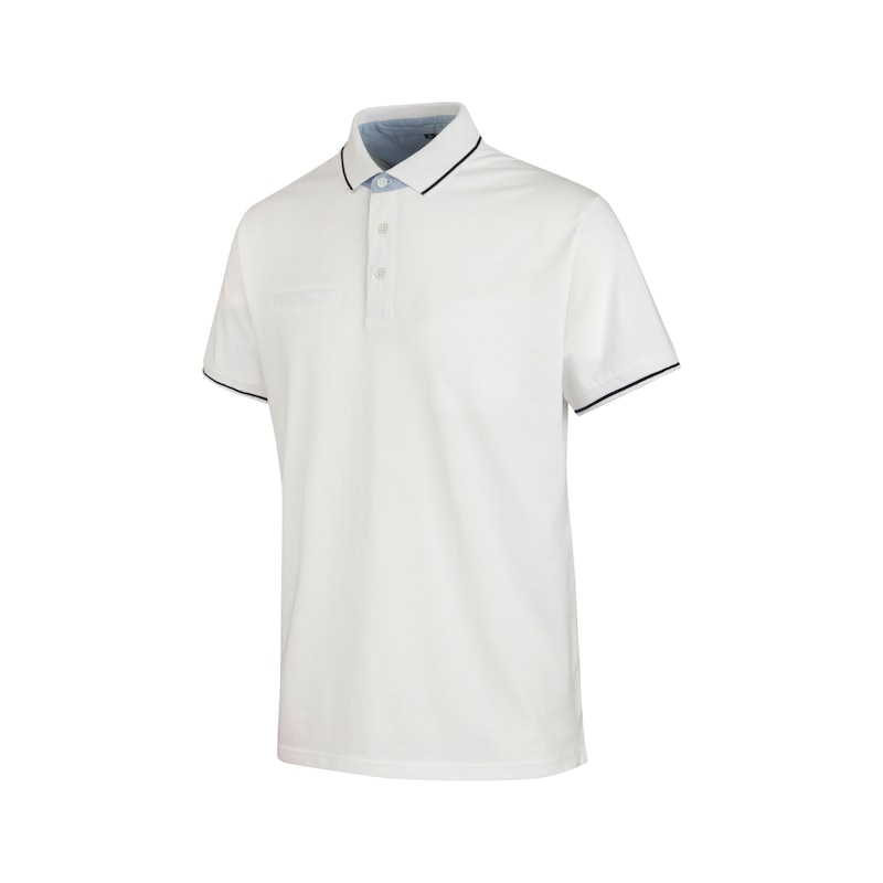 Polo de bureau en jersey - POLO OFFICE BLANC 3XL